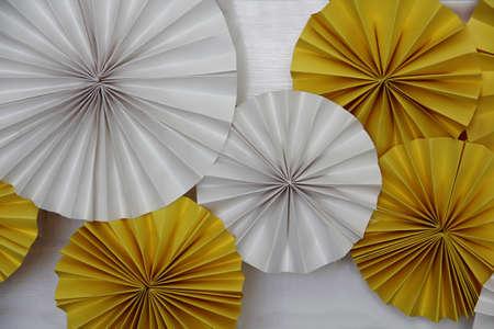 Decorative fan wheels Imagens