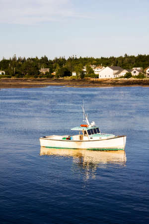 Boat in Southwest Harbor Maine