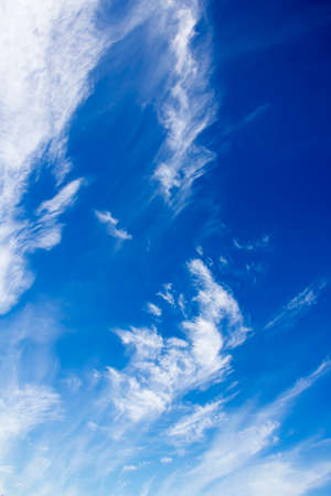 cirrus: Blue sky with Cirrus Clouds