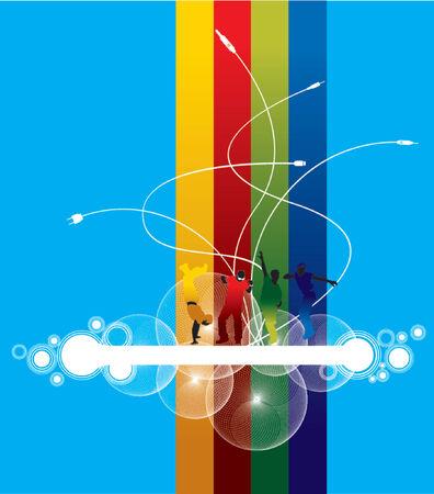 plugin: element for design, vector illustration. Illustration