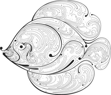 element for design, vector illustration. Vector