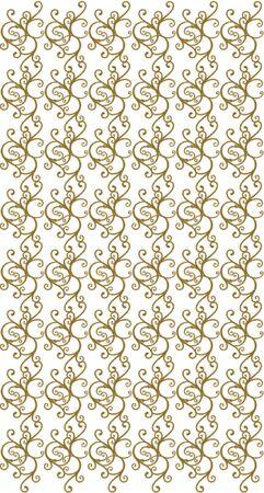 gold plaque: element for design, vector illustration. Illustration