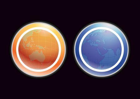 mainland: element for design, vector illustration.(AI 8 eps)