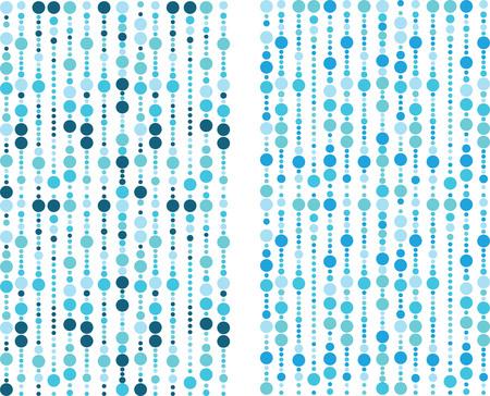 blue bubbles pattern