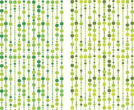 green bubbles pattern