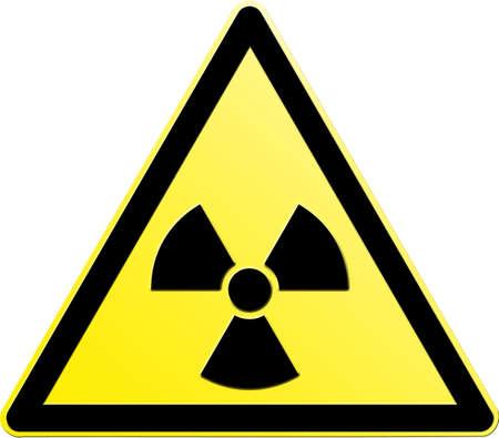 radiactividad: Radiactividad Foto de archivo
