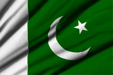 flag of pakistan: High detailed waving flag of different countries from all over the world.
