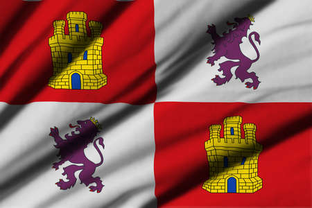 castilla: High detailed waving flag of different countries from all over the world.