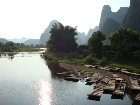 Li river in Yangshuo, China