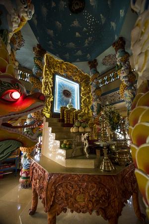 Thanh That Binh Khanh, Cai Dao church in Can Gio, Vietnam