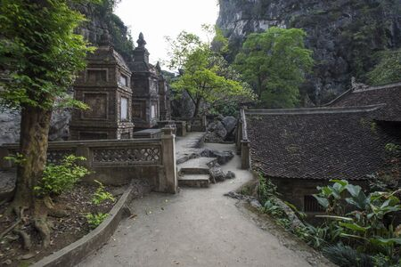 Bich Dong pagoda at Ninh Bình, Vietnam