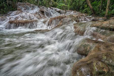 Dunn's River Falls.