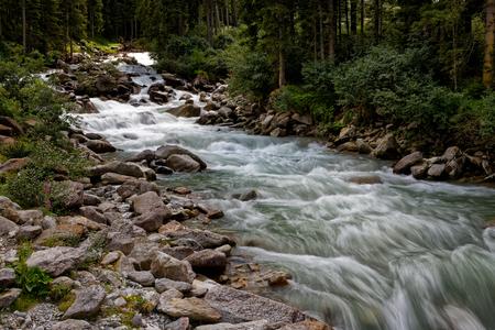 Krimml Waterfalls, Austria.