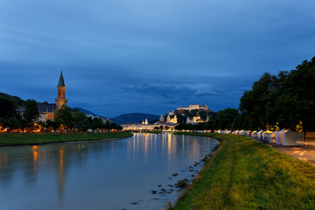 City view of Salzburg.