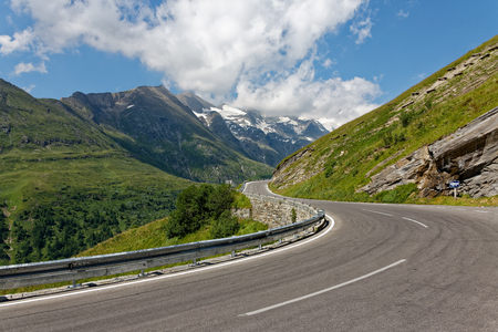 Grossglockner High Alpine Road, Austria. Stock Photo