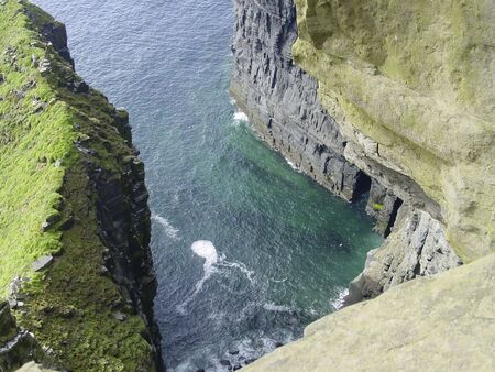 moher: cliffs of moher, ireland Stock Photo