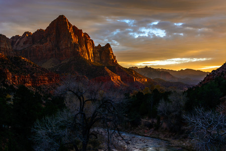 The Watchman, Zion National Park, Springdale, UT
