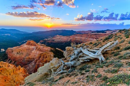 Sunset at Cedar Breaks National Monument, Cedar City, UT
