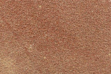 Macro image of sandpaper details suitable for textured overlays Banco de Imagens