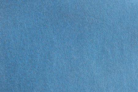 Close up image of sky blue CMYK dots on flat newsprint Stock Photo