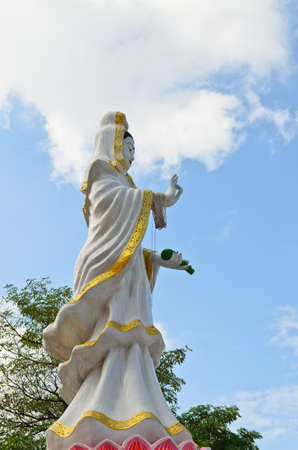 Guan-Yin statue, Songkhla province , Thailand  photo