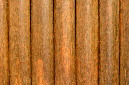 Wood texture background from sugar palm wood wall photo