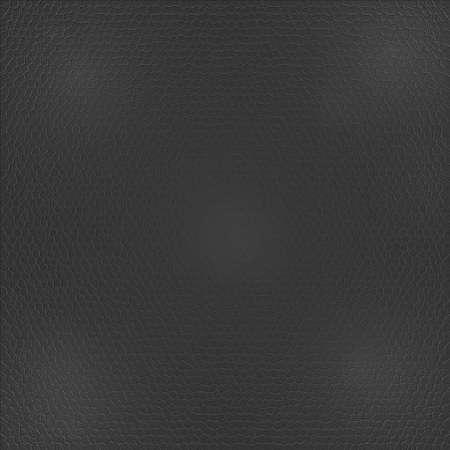 Seamless black leather texture background  photo