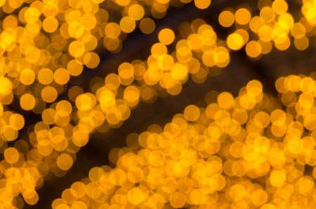 Yellow light bokeh Stock Photo - 17315020