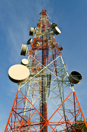 Telecommunication tower Stock Photo - 18307294