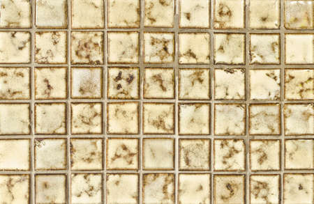 mosaic tile background, brown color photo