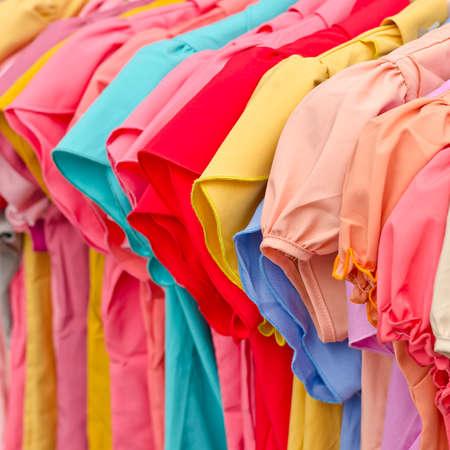fashion female colorful clothing photo