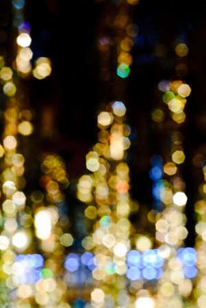 Defocused lights background photo Stock Photo