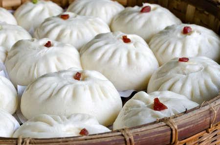 Chinese Steamed pork bun photo