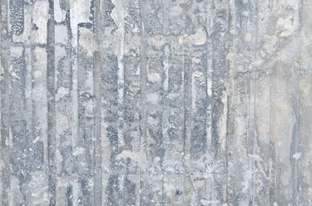 Dirty and rusty galvanized iron plate photo