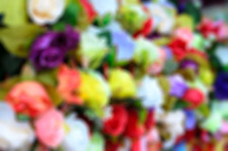abstractly: Colorful abstract blur background