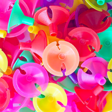 Colorful plastic cups for latex balloon