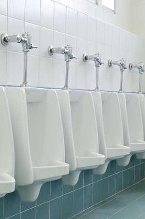 Mens public toilet photo