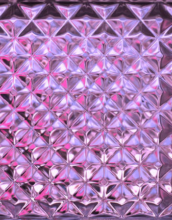 Transparent glass wall texture Stock Photo