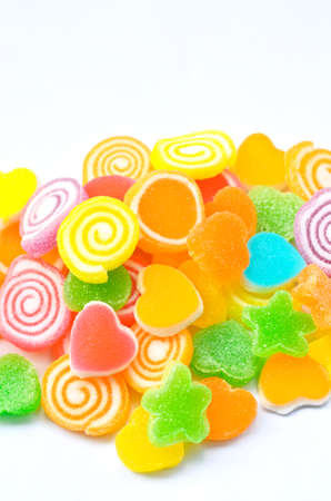 Colorful and sweet jelly candy Stock Photo