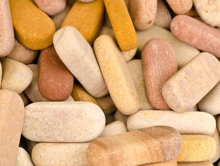 Sandstone for skin polishing