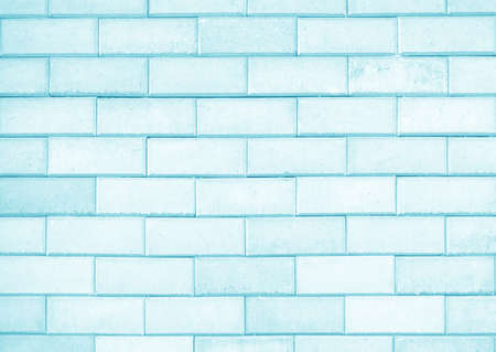 blue vintage background: Light blue brick wall texture or background
