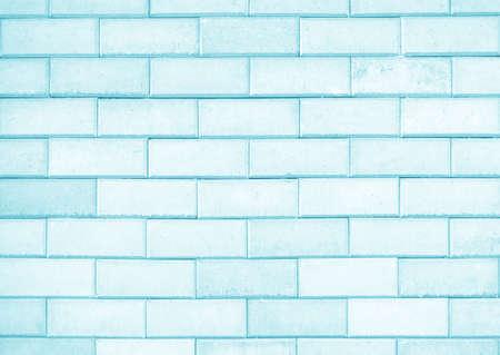 bricks background: Light blue brick wall texture or background