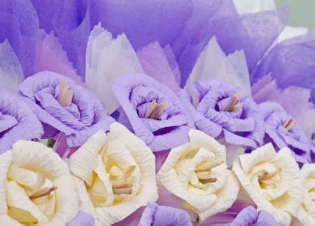 funeral background: roses flower wreath for use in Thai funeral