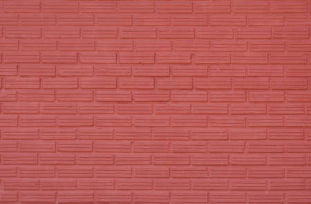 Red Brick wall for texture background Stock Photo