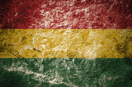 red, yellow, green, reggaes color  style on stone background