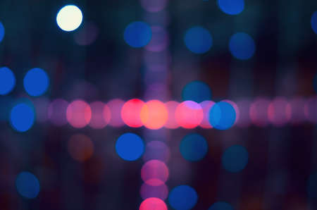 abstract background of colorful defocus bokeh lights