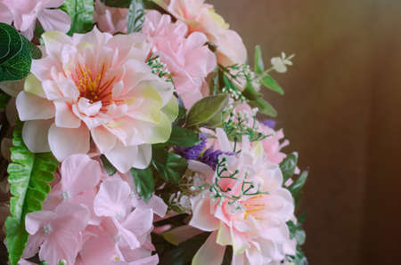 Beautiful sweet color artificial flower decoration