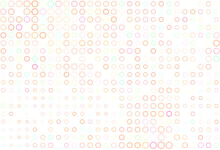 Abstract colored circles, bubbles, sphere or ellipses shape pattern. Good for web page, wallpaper, graphic design, catalog, texture or background. Style of mosaic or tile. Vector graphic.