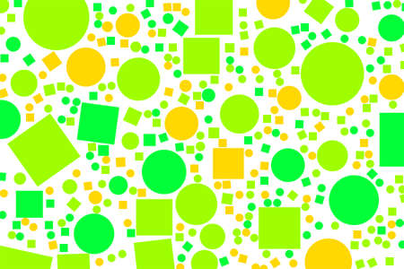 Abstract colored ellipse