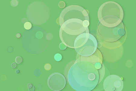 Abstract embossed & random circle, ellipse or bubble shape, digital generative art for web page, graphic design, catalog, textile or texture printing & background